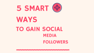 5 Ways to Gain Social Media Followers