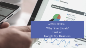 Benefits of posting to Google My Business