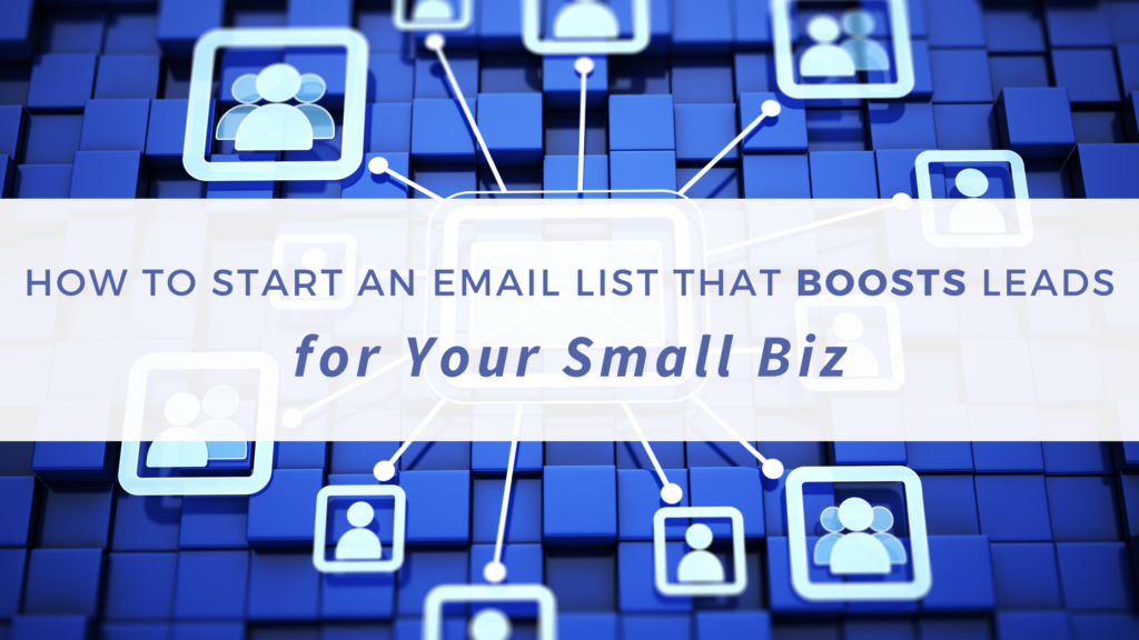 Tips for starting an email list